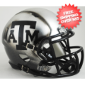 Helmets, Mini Helmets: Texas A&M Aggies NCAA Mini Speed Football Helmet <B>Ice Hydro 2015</B>