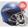 Office Accessories, Desk Items: Air Force Falcons Mini Football Helmet Desk Caddy <B>Satin Blue</B>