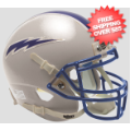 Office Accessories, Desk Items: Air Force Falcons Mini Football Helmet Desk Caddy <B>Gray</B>