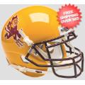 Helmets, Mini Helmets: Arizona State Sun Devils Mini XP Authentic Helmet Schutt <B>Sparky</B>