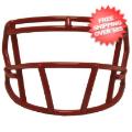 Helmets, Blank Mini Helmets: Mini Speed Z2BD Facemask Scarlet