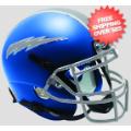 Helmets, Mini Helmets: Air Force Falcons Mini XP Authentic Helmet Schutt <B>Satin Blue</B>