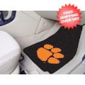 Car Accessories, Detailing: Clemson Tigers Car Mats 2 Piece