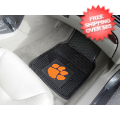 Car Accessories, Detailing: Clemson Tigers Vinyl Car Mats