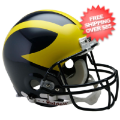 Helmets, Full Size Helmet: Michigan Wolverines Football Helmet <B>PAINTED SHELL</B>