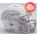 Helmets, Full Size Helmet: Denver Broncos ICE Speed Replica Helmet