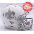 Helmets, Full Size Helmet: New Orleans Saints ICE Speed Replica Helmet