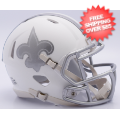 Helmets, Mini Helmets: New Orleans Saints ICE Mini Speed <B>Discontinued</B>