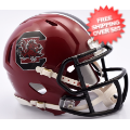 Helmets, Mini Helmets: South Carolina Gamecocks NCAA Mini Speed Football Helmet <B>NEW 2016</B>
