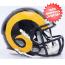 St. Louis Rams NFL Mini Speed Football Helmet <B>NEW 2015</B>