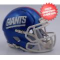 Helmets, Full Size Helmet: New York Giants Speed Football Helmet <B>2016 Color Rush</B>