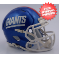 Helmets, Full Size Helmet: New York Giants Speed Replica Football Helmet <B>2016 Color Rush Discontinu...