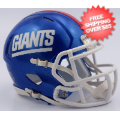 Helmets, Mini Helmets: New York Giants NFL Mini Speed Football Helmet <B>2016 Color Rush</B>