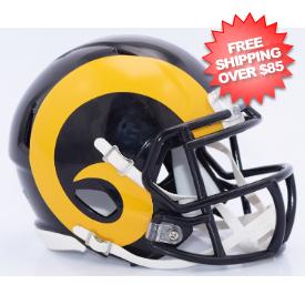 St. Louis Rams NFL Mini Speed Football Helmet <B>2015 Color Rush</B>