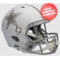 Helmets, Full Size Helmet: Dallas Cowboys ICE Speed Replica Helmet