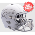 Helmets, Full Size Helmet: Denver Broncos ICE Speed Replica Helmet