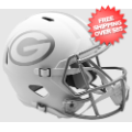Helmets, Full Size Helmet: Green Bay Packers ICE Speed Replica Helmet
