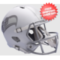 Helmets, Full Size Helmet: Seattle Seahawks ICE Speed Replica Helmet