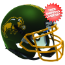 North Dakota State Bison Mini Football Helmet Desk Caddy <B>Matte Green</B>