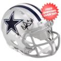 Autographs, Mini Football Helmets: Autographed Dallas Cowboys Dak Prescott Authentic Riddell Speed Mini Helmet...