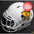 Helmets, Mini Helmets: West Virginia Mountaineers Mini XP Authentic Helmet Schutt <B>Matte White 1...