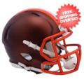 Helmets, Mini Helmets: Cleveland Browns  BLAZE Speed Mini Football Helmet <B>2017 BLAZE</B>