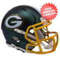 Helmets, Mini Helmets: Green Bay Packers  BLAZE Speed Mini Football Helmet <B>2017 BLAZE</B>