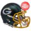 Green Bay Packers  BLAZE Speed Mini Football Helmet <B>2017 BLAZE</B>