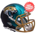 Helmets, Mini Helmets: Jacksonville Jaguars  BLAZE Speed Mini Football Helmet <B>2017 BLAZE</B>
