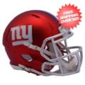 Helmets, Mini Helmets: New York Giants  BLAZE Speed Mini Football Helmet <B>2017 BLAZE</B>
