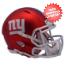 New York Giants  BLAZE Speed Mini Football Helmet <B>2017 BLAZE</B>