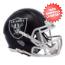 Oakland Raiders  BLAZE Speed Mini Football Helmet <B>2017 BLAZE</B>