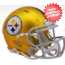 Pittsburgh Steelers  BLAZE Speed Mini Football Helmet <B>2017 BLAZE</B>