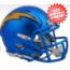 San Diego Chargers  BLAZE Speed Mini Football Helmet <B>2017 BLAZE</B>