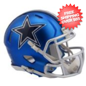 Dallas Cowboys BLAZE Speed Replica Football Helmet <B>2017 BLAZE</B>