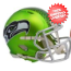 Seattle Seahawks BLAZE Speed Replica Football Helmet <B>2017 BLAZE</B>