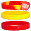 Iowa State Cyclones Rubber Wristbands 3 Pack