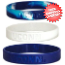 Connecticut Huskies Rubber Wristbands 3 Pack