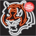 Home Accessories, Game Room: Cincinnati Bengals Neon Sign