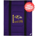 Home Accessories, Bed and Bath: Baltimore Ravens Comforter Full/Queen Sideline