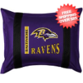 Home Accessories, Bed and Bath: Baltimore Ravens Sham Sideline
