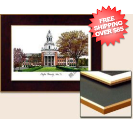 Baylor Bears Collegiate Unframed Laminated Lithograph