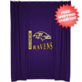 Home Accessories, Bed and Bath: Baltimore Ravens Shower Curtain