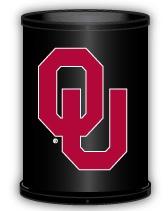 Oklahoma Sooners Trashcan