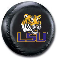 LSU Tigers Tire Cover