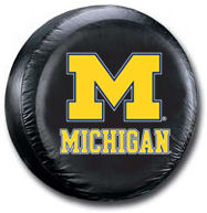 Michigan Wolverines Tire Cover <B>BLOWOUT SALE</B>