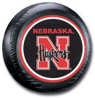 Nebraska Cornhuskers Tire Cover <B>BLOWOUT SALE</B>