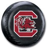 South Carolina Gamecocks Tire Cover <B>BLOWOUT SALE</B>