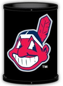 Cleveland Indians Trashcan