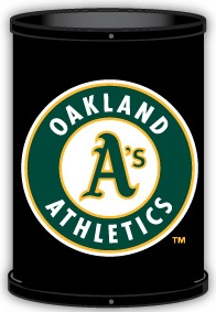 Oakland Athletics Trashcan